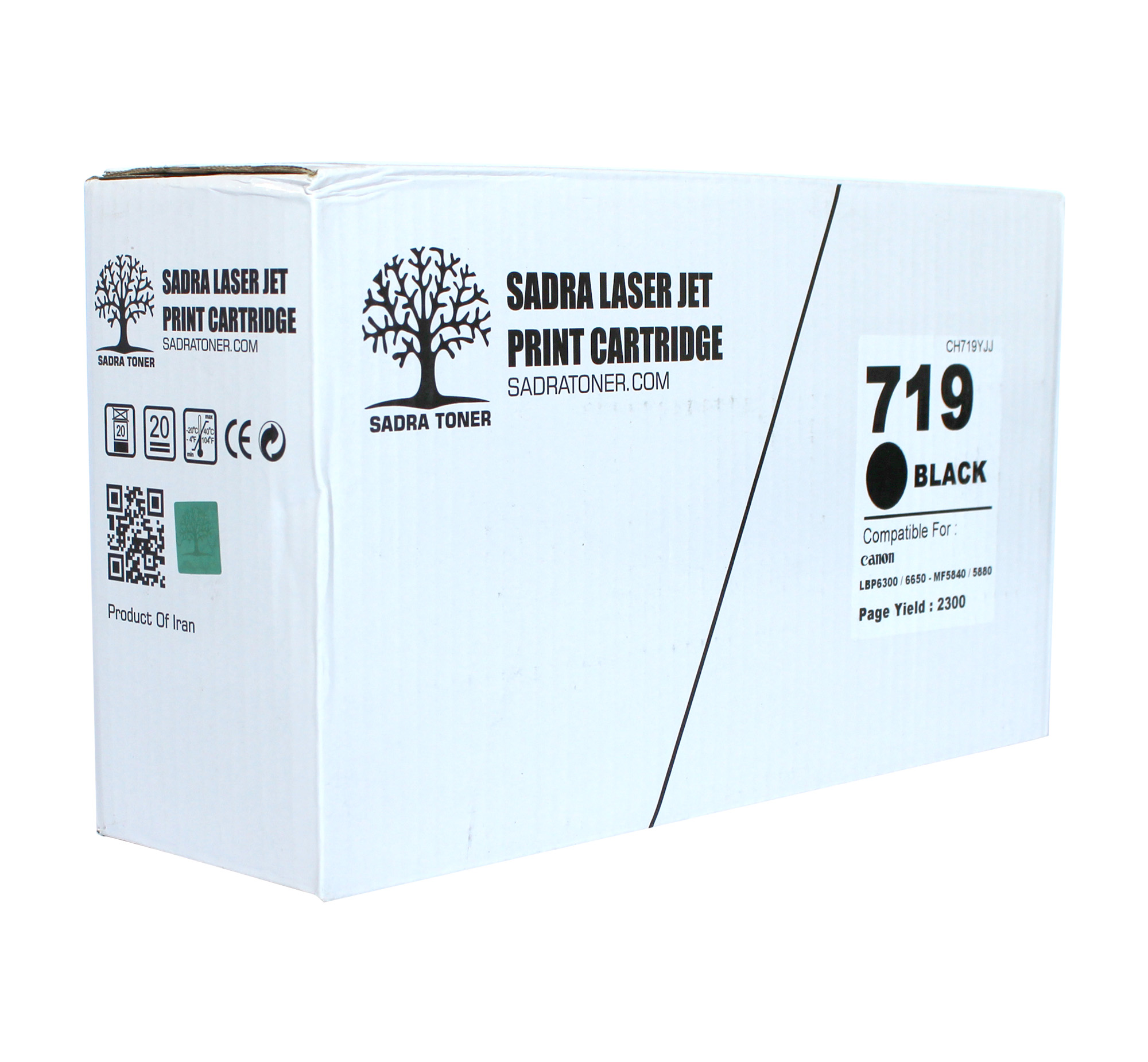Sadra Laser Cartridge 719 Canon Black